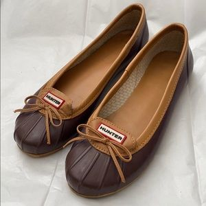 Hunter Duck Shoes! SZ 9!